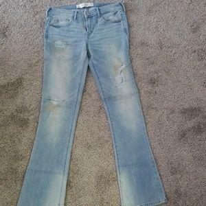 Abercrombie & Fitch Jeans - Abercrombie Light Denim Flare Jean